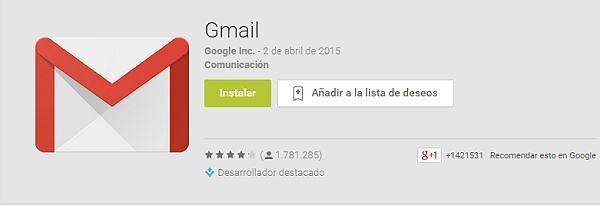 las-100-mejores-aplicaciones-android-2015-gmail