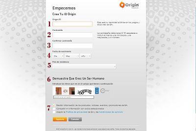crear-cuenta-Origin-completar-formulario