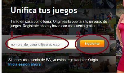 crear-cuenta-Origin-correo-electronico