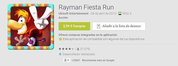 100-mejores-juegos-android-2015-Rayman Fiesta Run