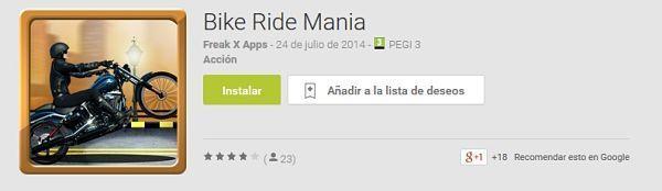 Los-100-mejores-juegos-android-2015-Bike-Ride-Mania