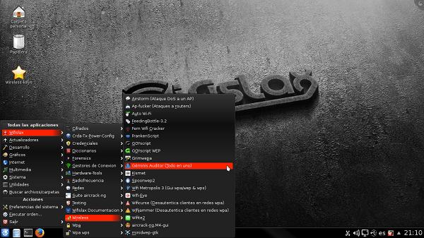 descifrar-clave-wifi-wifislax-interfaz