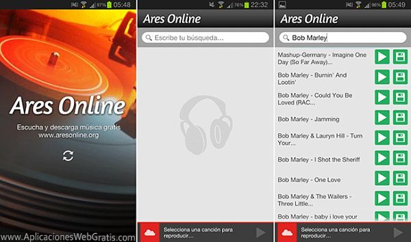 los-mejores-programas-para-descargar-musica-gratis-mp3-en-android-ares-online