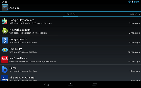 mejores-aplicaciones-android-root-app-ops