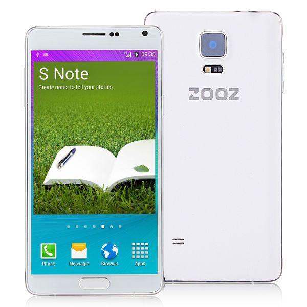 Clones chinos del Samsung Galaxy Note 4-ZOOZ-NOTE-4-N910F
