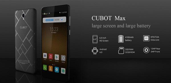 cubot-max-4g-precio