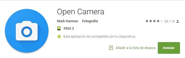 aplicaciones-editar-fotos-arreglar-decorar-open-camera