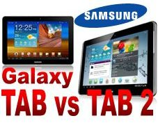 Galaxy TAB 10.1 vs Galaxy TAB 2 10.1
