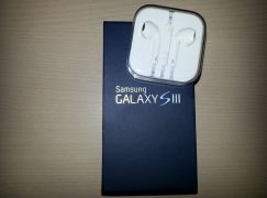 Los earpods de Apple en el Galaxy S 3