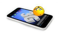 ¿Por que no funciona el 3G o 4g en mi móvil?