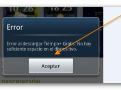 """Qué hacer para evitar el """"No hay suficiente espacio"""" en Android"""