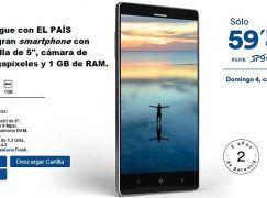 """Avenzo Xirius, el móvil que promociona """"El País"""""""