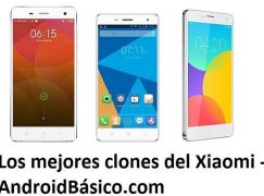 Cuáles son los mejores clones del Xiaomi Mi4