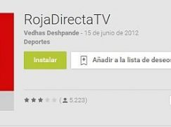 RojaDirecta Android para móviles y tablet
