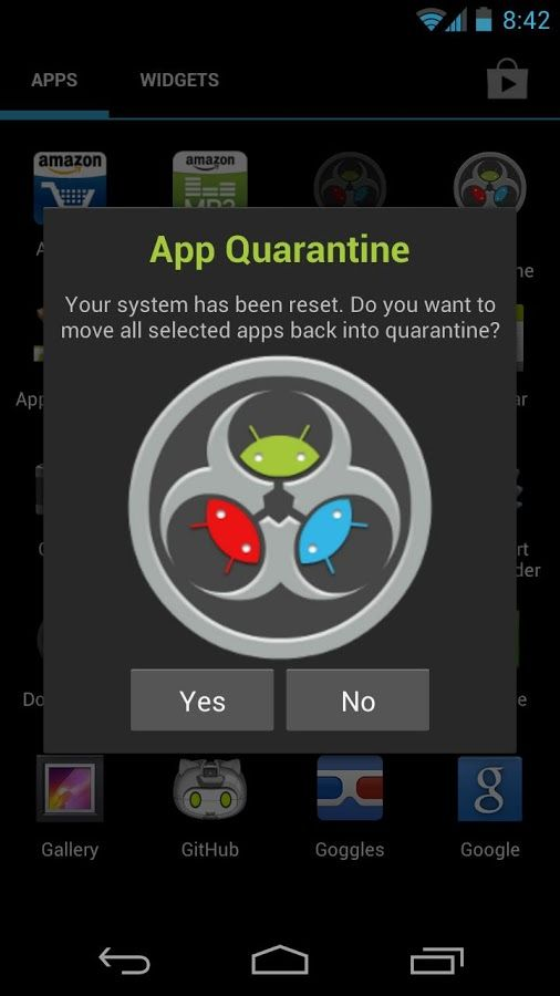 App-Quarantine-ROOT-FREEZE