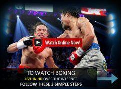 Cómo ver boxeo online GRATIS