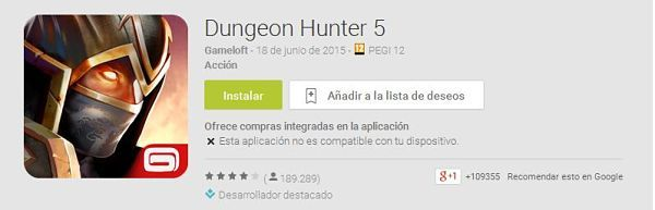 100-mejores-juegos-android-2015--Dungeon-Hunter-5