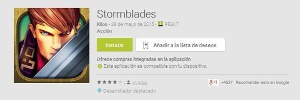 100-mejores-juegos-android-2015--Stormblades