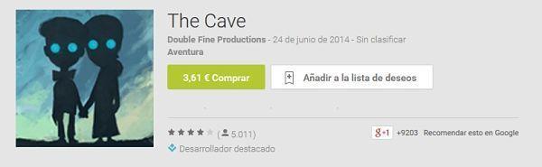 Los-100-mejores-juegos-android-2015-The-Cave