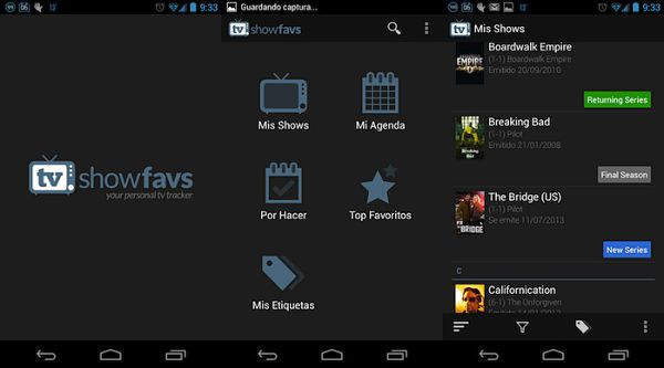 mejores-aplicaciones-android-para-ver-series-TV-Show-Favs