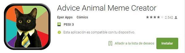 aplicaciones-para-hacer-memes-advice-animal-meme-creator