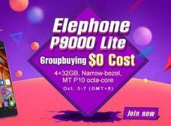 Elephone P9000 Lite de 5,5 pulgadas por menos de 155€