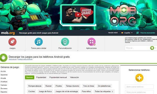 Las Mejores Aplicaciones Para Descargar Juegos 2019android Basico