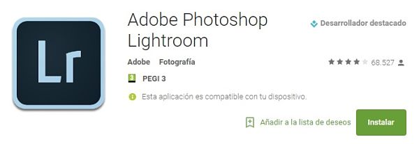 aplicaciones-editar-fotos-arreglar-decorar-lightroom