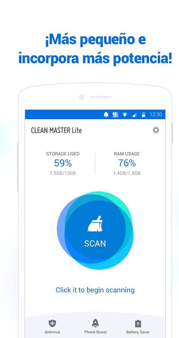 mejores-antivirus-para-android-gratis-clean-master-lite