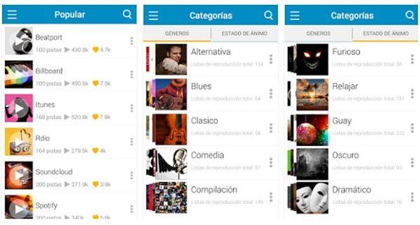 a5f2249c58a Aplicaciones para descargar música gratis mp3 en Android: PlaYo Música  Ilimitada Gratis
