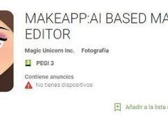 Descargar e Instalar MakeApp: la aplicación para quitar el maquillaje en las fotos