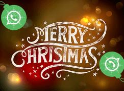 30 Frases y Mensajes para felicitar la navidad 2018 por Whatsapp