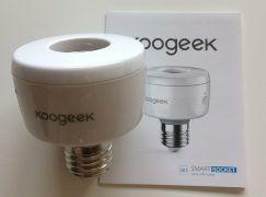 Portalámpara Inteligente con WiFi para Bombillas E27 de Koogeek