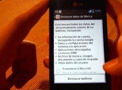 Cómo restablecer datos de fabrica de un móvil o tablet Android