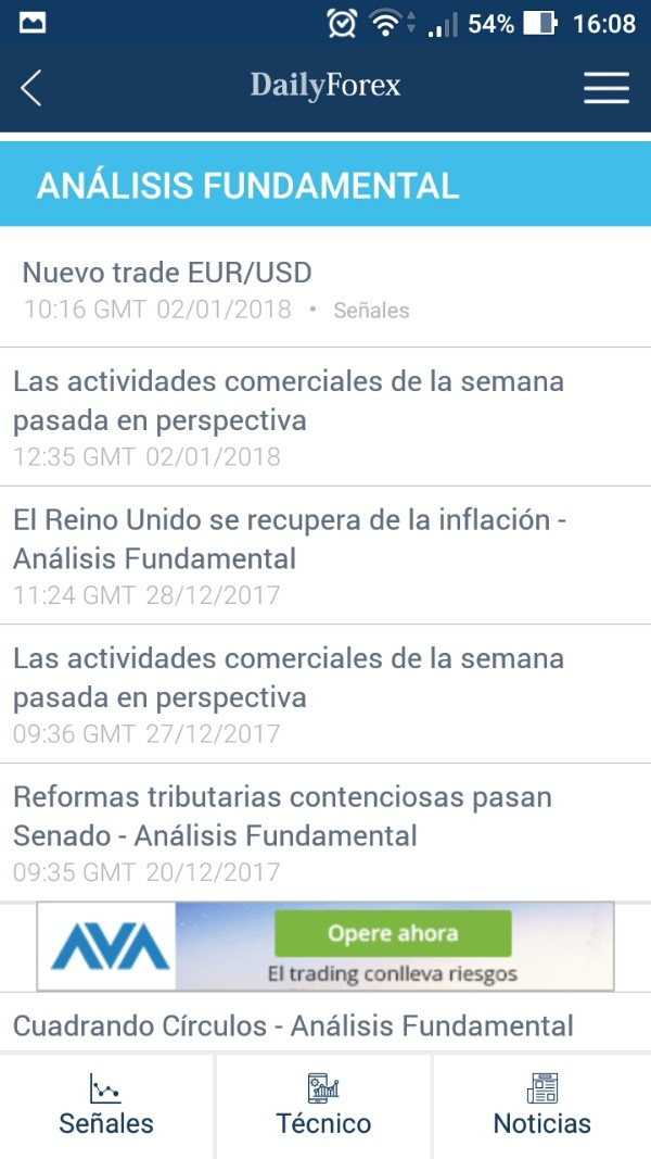 Analisis fundamental mercado forex